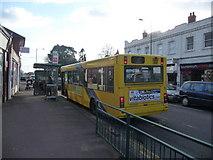 SZ0894 : Bournemouth : Moordown - Wimborne Road Bus Stop by Lewis Clarke