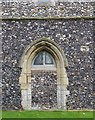 TL9996 : All Saints, Rockland All Saints, Norfolk - Blocked doorway by John Salmon