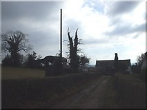 ST3196 : Track to Croeswen Farm by John Lord