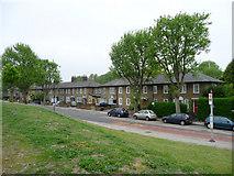 TQ3778 : Houses near Mudchute Station, Isle of Dogs by Christine Matthews