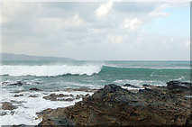 SW5842 : Winter waves at Godrevy (1) by Andy F
