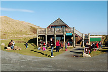 SW5842 : Godrevy beach cafe on a warm February afternoon by Andy F