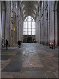SU4829 : The Great Nave - Winchester Cathedral by Given Up