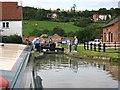 SP4560 : Napton bottom lock 8, Oxford canal by David P Howard
