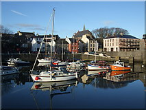 SC2667 : Outer harbour Castletown by Richard Hoare