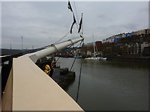 ST5772 : Bowsprit and Harbour by Peter Barr