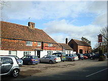 TQ7048 : The Woolpack Inn public house, Benover Road, Yalding by Stacey Harris