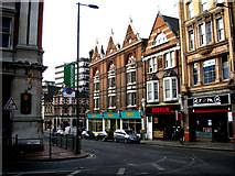 TQ3265 : Croydon:  Albion House and Millet's by Dr Neil Clifton