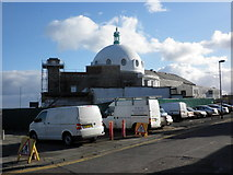 NZ3572 : Refurbishment work, Spanish City, Whitley Bay by Roger Cornfoot