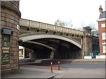 SK3436 : Railway Bridge, Friar Gate by JThomas