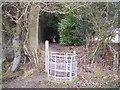 TQ8430 : Kissing gate near Great Maytham by David Anstiss