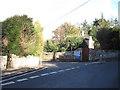 SJ2633 : Road junction for Weston Rhyn by John Firth