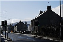 SX0158 : Fore Street, Bugle by David Whitby