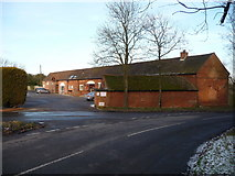 SP0874 : Fulford Heath golf club clubhouse and entrance by Jeremy Bolwell