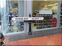 SP0686 : Needless Alley by Eirian Evans