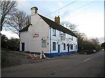 SU6349 : Farleigh Road & Jolly Farmer by Sandy B