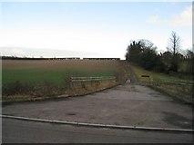 SU6349 : Farm track by Sandy B