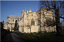 SU4829 : Winchester Cathedral by Richard Croft