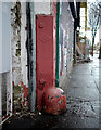 J3272 : Corner protector, Belfast by Rossographer