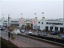TM1714 : Clacton Pier by Keith Evans