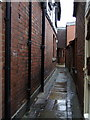 SJ4912 : The shuts and passages of Shrewsbury: Bowdler's Passage by ceridwen