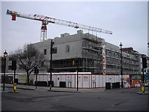 TQ2978 : Building work at Pimlico Academy Lupus Street by PAUL FARMER