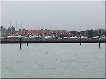 SU4208 : Outside Hythe Marina by Christine Johnstone