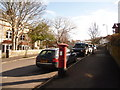 SZ0378 : Swanage: postbox № BH19 123, Park Road by Chris Downer