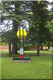 SU4829 : Construction (Crucifixion) sculpture, Winchester by Julian Osley