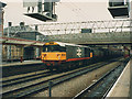 SJ7154 : Coal train through Crewe station by Stephen Craven