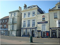 TR3752 : The Clarendon Hotel, Beach Street, Deal by Stacey Harris