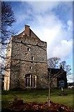 NY9393 : Elsdon Tower. by Colin Kinnear