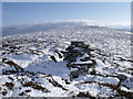 NN7277 : Summit of Meall na Spianaig by ian shiell