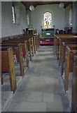 SV9215 : Interior of the church on St Martin's Scilly by John Rostron