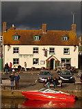 SY9287 : Wareham: the Quay Inn by Chris Downer