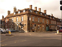 SY9287 : Wareham: the Red Lion Hotel by Chris Downer