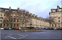 ST7565 : Fountain in Laura Place by Rick Crowley