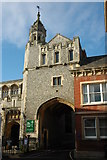 SU3521 : Abbey Gateway, Romsey by Philip Halling