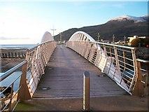 J3731 : Footbridge across the Shimna Estuary by Eric Jones