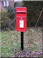 TM1360 : Mill Hill Postbox on Scott's Hill by Adrian Cable