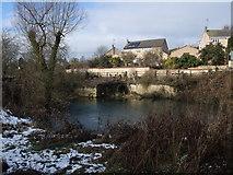 SP9599 : Barrowden Mill Pond by Tim Heaton