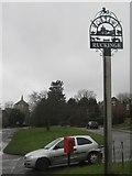TR0233 : Ruckinge Village Sign by David Anstiss