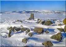 SO2556 : Trig point on the Hergest Ridge by Trevor Rickard