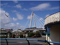 SD3317 : Marine Parade Bridge by Peter Teal