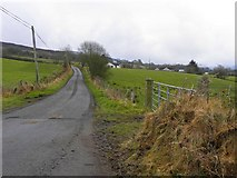 H4483 : Lisnaharney Road by Kenneth  Allen