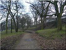 NT2674 : Path Through London Road Gardens by kim traynor