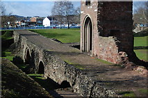 SX9192 : Exeter's medieval bridge by Anthony Volante