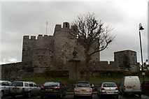 SC2667 : The castle, Castletown by David Long