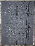 SO2956 : Kington war memorial - plaque 4 by Bob Embleton