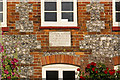 TQ4161 : Plaque on Cudham Workhouse by Ian Capper